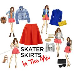 Skater Skirts: In The Mix