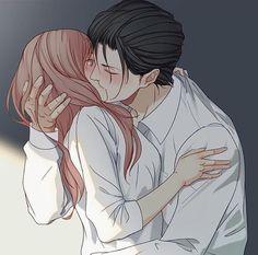 Romantic Anime Couples, Romantic Manga, Cute Anime Couples, Anime Couple Kiss, Anime Kiss, Anime Love Story, Manga Love, Anime Couples Drawings, Anime Couples Manga