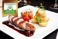 Enjoy fine dining for 2 at AA Rosette-awarded Petrichor.