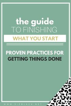 Following through with your plans is easier said than done. We frequently talk ourselves out of our tasks, procrastinate, and neglect our responsibilities.