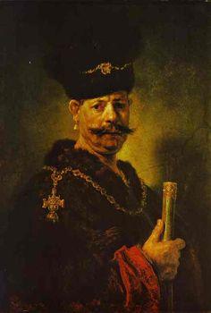 Rembrandt - A Polish Nobleman