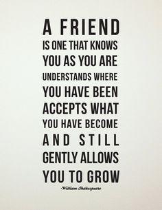 A true friend...