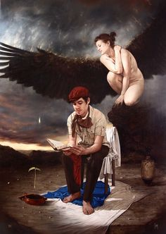 Hernan Javier Muñoz, 1983 | Surrealist painter | Tutt'Art@