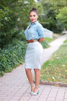 ! Maryam Maquillage !: Makeup & Fashion: Pink, Taupe, Crisp & Clean