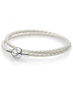 leather - buy fabulous pandora bracelets unique moments, leather, rose gold and silver designs, up to off all the latest must have looks! Pandora Uk, Cheap Pandora, Pandora Leather, Leather Charm Bracelets, Pandora Bracelet Charms, Ivory White, Rose Gold, Diamond, Silver