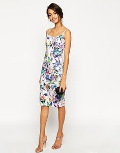 ed120961b2 ASOS New Floral Hitchcock Dress Fashion Clothes Online