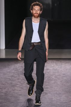 Maison Martin Margiela Spring 2014 Menswear Collection Slideshow on Style.com