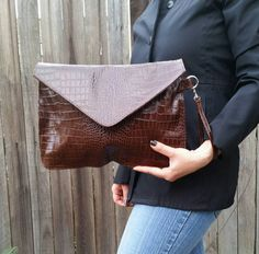 Check out this item in my Etsy shop https://www.etsy.com/listing/225610296/leather-envelope-clutch-bag-evening
