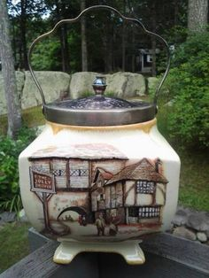 Vintage Collectible Sandland Ware Dicken's Era Tea by kathryntm, $25.00