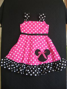 Minnie Mouse Dress by izziestyle on Etsy, $35.00