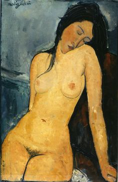 Modigliani - Seated Nude