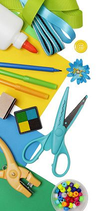 Organizing your craft supplies