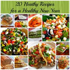 20 Healthy Recipes for a Healthy New Year | Flavor Mosaic | #healthyrecipes