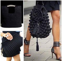 Crochet Handbags, Crochet Purses, Boho Bags, Crochet Projects, Purses And Bags, Knitwear, Crochet Patterns, Arts And Crafts, Knitting