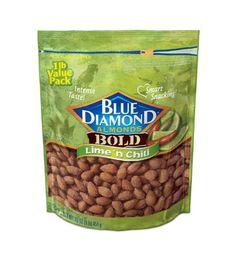 Blue Diamond Almonds Bold Lime n Chili. SO addictive.
