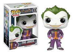 From the hit video game Batman: Arkham Asylum comes new Funko POP Vinyl Figures! Kick start your Pop! Vinyl collection with this pint-sized evil maniac, The Joker! This Pop depicts Joker's image as seen in Arkham Asylum, so don't miss out! Le Joker Batman, Joker Pop, The Joker, Funko Pop Batman, Gotham Batman, Batman Art, Batman Robin, Spiderman, Joker Nurse