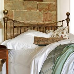 Austen Victorian Brass Headboard | AND SO TO BED