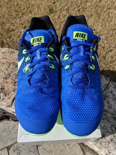 047c32219556 Nike Zoom Rival M 8 Mens Track Field Sprint Spikes Shoes 806555 413 Size 11