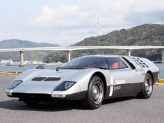 Mazda RX500 (1970) with an elliptical Wankel rotary engine and forward-swinging butterfly-wing doors