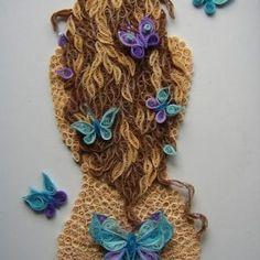En Yeni Quilling Çalışmaları - Mimuu.com Aesthetic Hair, Quilling, Elsa, Crochet Necklace, Projects, Jewelry, Quilling Patterns, Bedspreads, Log Projects