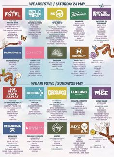 We Are festival, 24/25 May, UK