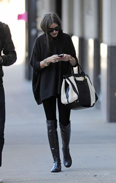 THE OLIVIA PALERMO LOOKBOOK: Olivia Palermo seen out and about in Brooklyn