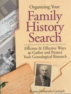 Tells how to create a family history filing system, prepare for research trips, set up a home office for genealogical work, and preserve one's findings.