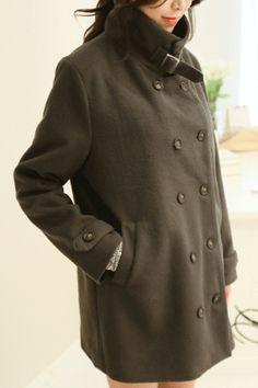 Stylish - 욕구의 충족 곤센 Korean Online Shopping, Korean Women, Korean Fashion, Fashion Women, Coat, Jackets, K Fashion, Women's Work Fashion, Down Jackets