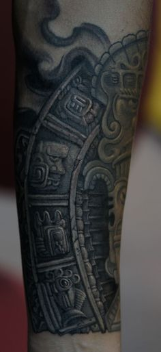 mayan stone fragment by strangeris on DeviantArt