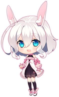 commission for /what is color //sobs Please do not trace, redistribute, or copy Odettia (c) Art (c) Paint tool SAI, Photoshop Cute Anime Chibi, Kawaii Chibi, Kawaii Anime Girl, Kitten Drawing, Manga Drawing, Chibi Girl Drawings, Cute Drawings, Manga Anime, Anime Art