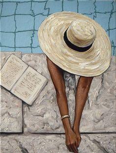 Elena Adele Dmitrenko - Paintings for Sale Art Sketches, Art Drawings, Arte Peculiar, Arte Van Gogh, Photorealism, Aesthetic Art, Painting Inspiration, Art Girl, Watercolor Art