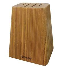 Kyocera Four Slot Knife Block Knife Storage, Advanced Ceramics, Survival Food, Wood Creations, Knife Block, Cutlery, Bamboo, Slot, Knives