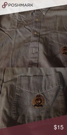 Mens Ralph Lauren XL Button Down Shirt Mens Ralph Lauren XL Button Down Shirt. Long Sleeve, Button Collar, Left Breast Pocket with Crest, 100% Cotton. Never Worn Ralph Lauren Tops Button Down Shirts