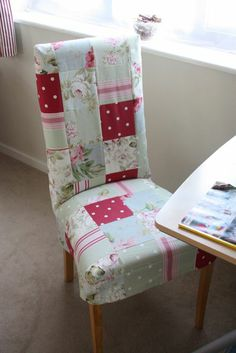 patchwork chair cover