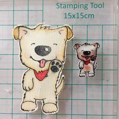 #stempel #schrumpfen hab ich ewig nicht mehr gemacht da muss ich wohl noch üben... #schrumpffolie #stamping #shrinkingfoil #cute #hund #dog #doglovers #basteln #kulricke #rayher