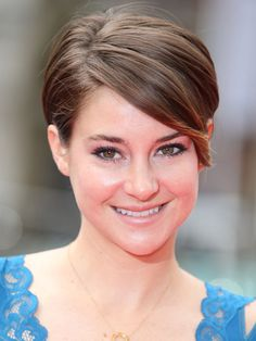 Shailene Woodley's Layered Pixie Pixie cuts are still going strong, and Shailene's slightly longer version is definitely one of the flattering versions we've seen. The lightly longer layers in the front keep it feeling feminine, plus, give you slightly more styling options.
