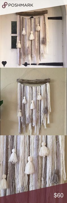 Driftwood Wall Hanging driftwood wall hanging | tribal decor | boho decor | woodland