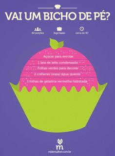 Bicho de pé é amor <3 20th Birthday, Open House, Oreo, Sweet Treats, Deserts, Tasty, Sweets, Cooking, Blog