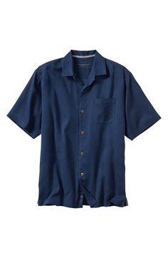 Tommy Bahama 'San Clemente' Island Modern Fit Silk Shirt