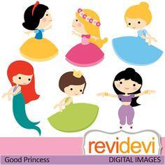 Decorations - Good Princess Digital Clip Art