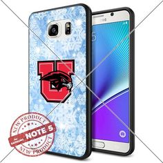NEW Utah Utes Logo NCAA #1656 Samsung Note5 Black Case Sm…