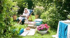 Znalezione obrazy dla zapytania piękny ogród zrób to sam