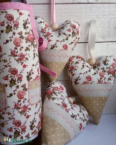 """""""Nosztalgikus"""" rózsa kollekció, patchwork készlet, dekoráció, Dekoráció, Konyhafelszerelés, Otthon, lakberendezés, Dísz, Varrás, Patchwork, foltvarrás, Meska"""