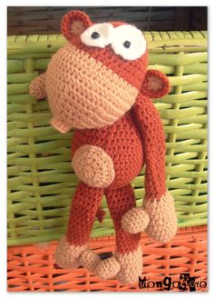 Monkey amigurumi