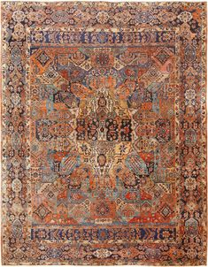 Room Size Antique Persian Sarouk Carpet 70028 Nazmiyal Persian Rugs View this spectacular jewel tone colored room size antique Persian Sarouk Carpet from Nazmiyal Antique Rugs in NYC. Neutral Carpet, Blue Carpet, Carpet Colors, Carpet Tiles, Rugs On Carpet, Hotel Carpet, Carpet Decor, Stair Carpet, Room Carpet