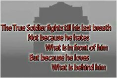 Lovely..Indian army quotes. .