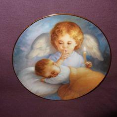Heavenly Angels Collectors Plate Hush a Bye Baby MaGo 1991 Artaffects Ltd  #ArtaffectsLtd http://stores.ebay.com/ktefashionandcollectibles
