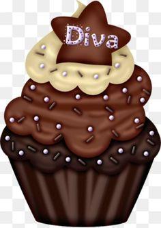 Cupcakes Illustration Birthday New Ideas Love Cupcakes, Baby Shower Cupcakes, Wedding Cupcakes, Birthday Cupcakes, Cupcake Pictures, Cupcake Images, Cupcake Pics, Cupcake Drawing, Cupcake Art