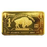 24k Gold Plated Bullion Beauty Bar