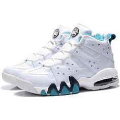 http://www.asneakers4u.com/ Charles Barkley Shoes   Nike Air Max2 CB 94 White/Shallow Blue